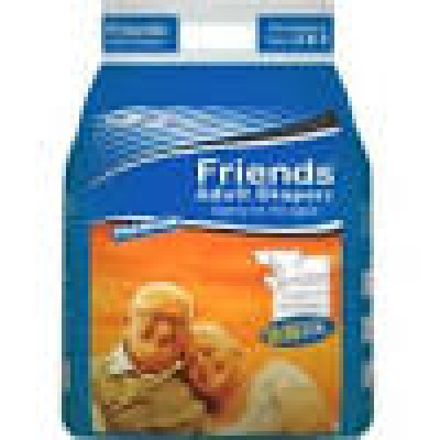 Friends Adult Diapers Extra Large-10Pcs