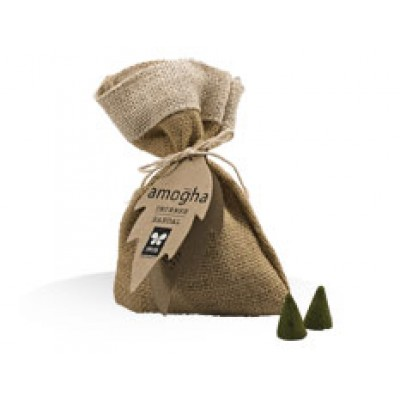 Speciality 25 Incense Cones-Sandal-in butiful jute pouch