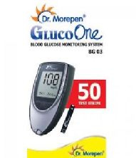 Blood Sugar Test Strip-Dr Morepen Blood Sugar Meter Model BG03