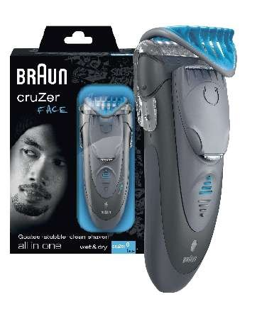 BRAUN Cruzer 6 Face Combo offer