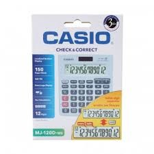 Casio Calculator DJ-120D