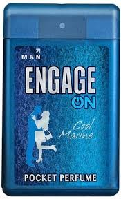 Engage ON Pocket Perfume Cool Marine18ml 250 sprays