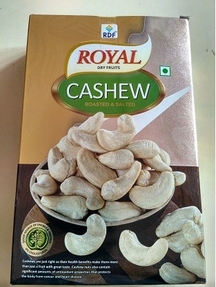 Cashew- Roasted & Salted 250G