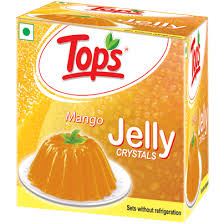 Tops Jelly Crystals Mango 90G