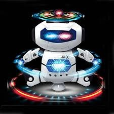 Naughty Dancing Robot -Toy Age 3+