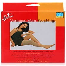 Vericose Vein Stockings-Flamingo